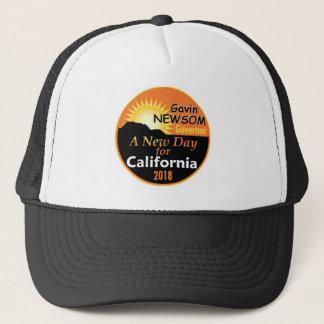 Gavin NEWSOM Governor 2018 Trucker Hat