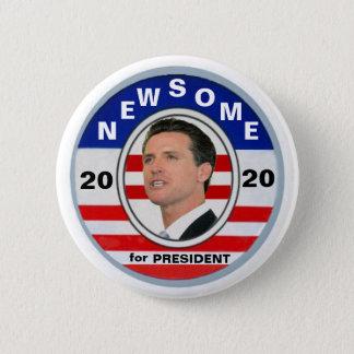 Gavin Newsome for President 2020 2 Inch Round Button