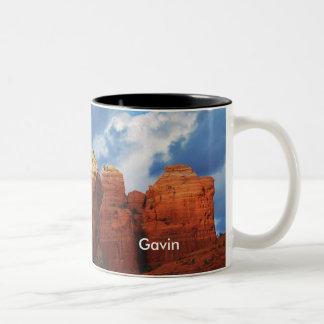 Gavin on Coffee Pot Rock Mug