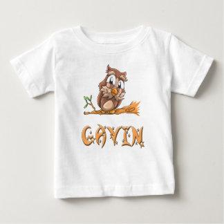 Gavin Owl Baby T-Shirt