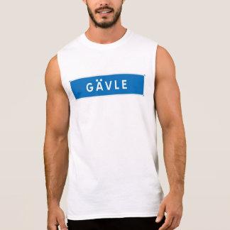 Gavle, Swedish road sign Sleeveless Shirt
