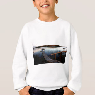 Gawas Bay at sunset Sweatshirt