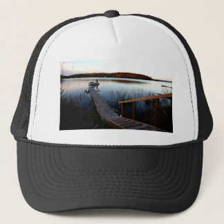 Gawas Bay at sunset Trucker Hat