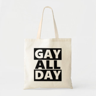 Gay All Day Tote Bag