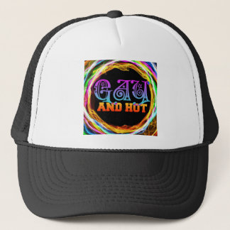 Gay and Hot Trucker Hat