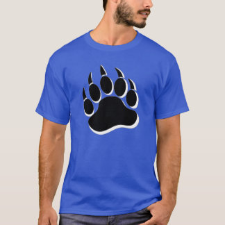 Gay Bear claw Black and White 3D effecT - Shirt
