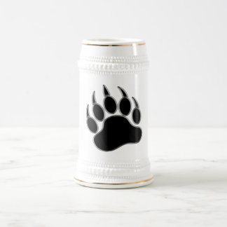 Gay Bear Paw Neat & Clean look -Stein 18 Oz Beer Stein