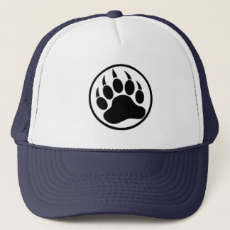 Gay Bear Pride Bear Paw Trucker Hat