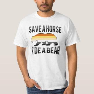 Gay Bear Pride Save A Horse Ride A Bear - Shirt