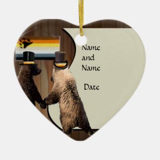 Gay Bear Wedding or Ceremony Ornament Favors