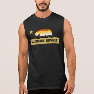 Gay Bears Pride California Bear Sleeveless Shirt