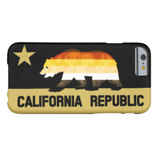 Gay Bears Pride Flag California Bear Barely There iPhone 6 Case