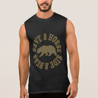 Gay Bears Pride Save a Horse Ride a Bear Sleeveless Shirt