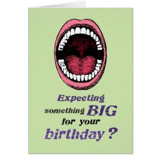 Gay Birthday Something Big Card