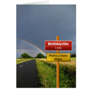 Gay Birthdayville Card
