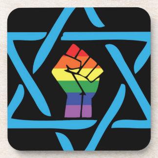 Gay Black Jewish Coaster