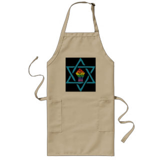 Gay Black Jewish Long Apron