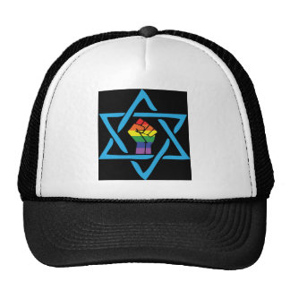 Gay Black Jewish Trucker Hat