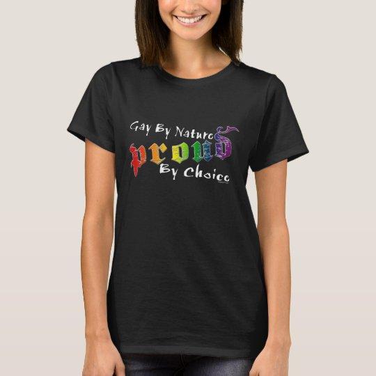 Gay by Nature (Dark) Women's T-Shirt