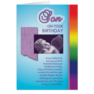 Gay Cards - Bday Son 01