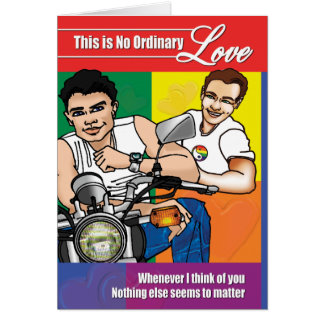 Gay Cards - No Ordinary Love 02