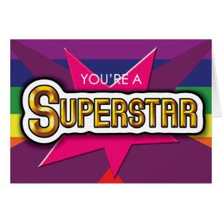 Gay Cards - SuperStar
