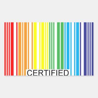 Gay Certified Sticker