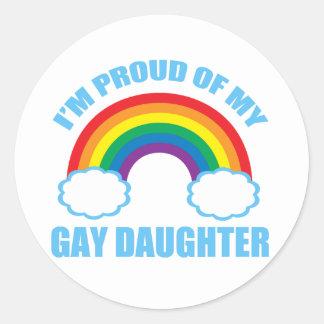 Gay Daughter Sticker