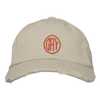 GAY EMBROIDERED HAT