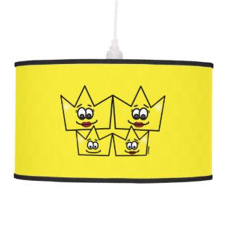 Gay family - Women - Queens - Hanging Luster Pendant Lamp