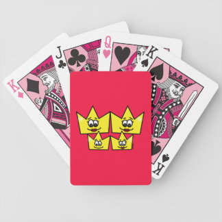 Gay family - Women - Queens - I baralho Letters Bicycle Playing Cards