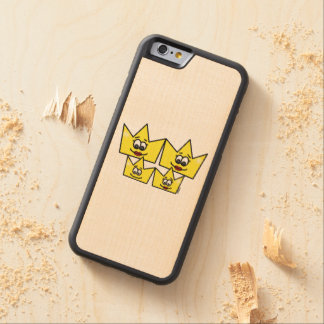 Gay family - Women - Queens - iPhone 6 Marries Carved Maple iPhone 6 Bumper Case