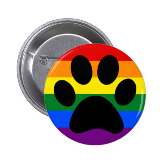 Gay furry pride 2 inch round button