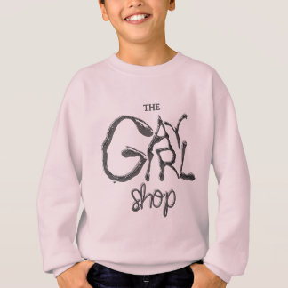 """Gay Girl Shop"" Logo Sweatshirt"