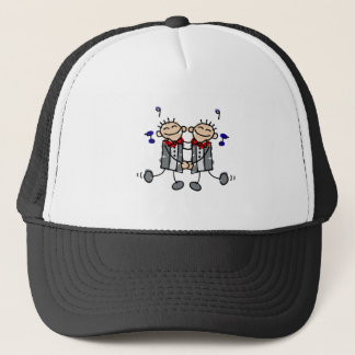 Gay Grooms first dance Trucker Hat