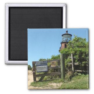 Gay Head Light House Marthas Vineyard Photo Magnet
