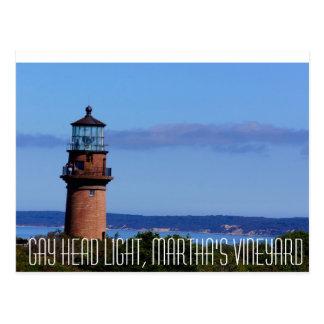 Gay Head Light Martha's Vineyard Postcard