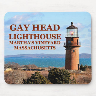Gay Head Lighthouse, Martha's Vineyard MA Mouse Pad