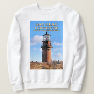 Gay Head Lighthouse, Martha's Vineyard MA Sweatshirt