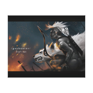 Gay Hunter Canvas Print