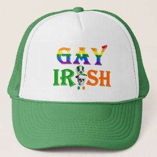 Gay Irish pride  St Patrick's day Trucker Hat