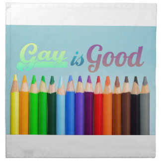 Gay is Good Design Napkin