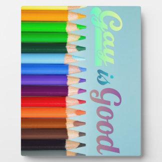 Gay is Good Design Plaque