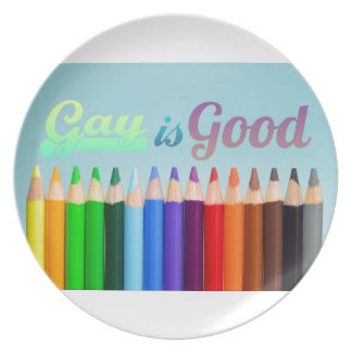 Gay is Good Design Plate