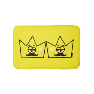 Gay King Crown King Crown Bath Mat