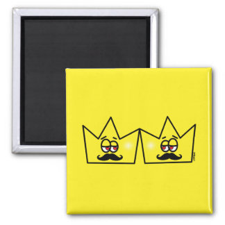 Gay King Crown King Crown Magnet