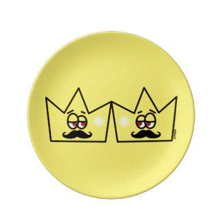 Gay King Crown King Crown Plate