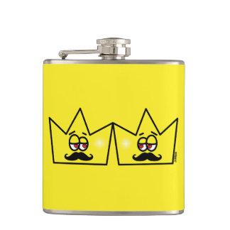 Gay King Crown King Crown Porta Drink Canteen Hip Flask