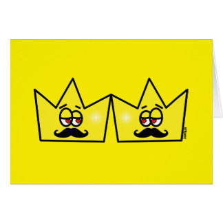 Gay King Rei Crown Coroa Card