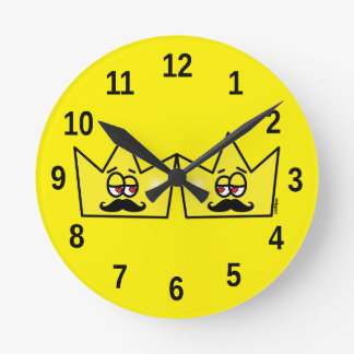 Gay King Rei Crown Coroa - Clock of Wall